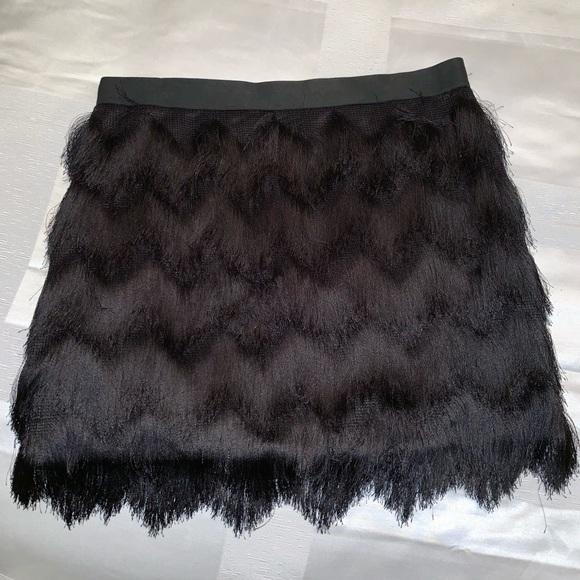 BCBGeneration Dresses & Skirts - Bcbg fringe skirt